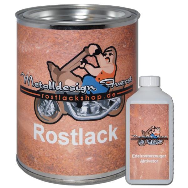 Rostlack-Rat Look-künstlich Berosten