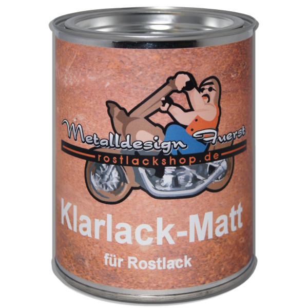 Rostlack Klarlack-Matt